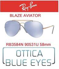 Occhiali da Sole RAY BAN SUNGLASSES RB 3584N 90531U 58mm BLAZE AVIATOR RAYBAN