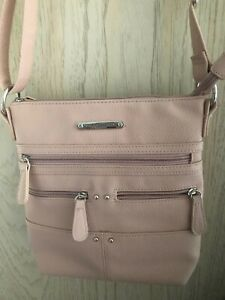 STONE MOUNTAIN PURSE, LEATHER, PINK