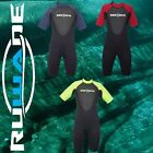 RUWADE 3mm shorty wetsuits,diving suits,short sleeve short leg surfing suits