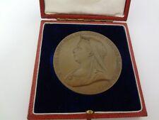 Queen Victoria Diamond Jubilee bronze medal