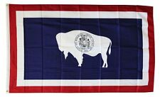 Wyoming State Flag 3 x 5 Foot Flag - New 3x5 Higher Quality Ultra Knit Flag