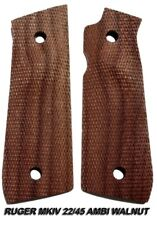 Herrett Ruger Mkiv 22/45 Grip Panels - Ambidextrous (Walnut) New - Free Shipping