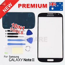 OZ Black Lens Outer Glass Screen Replacement for Samsung Galaxy Note 2