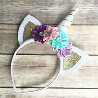 Girl Headdress Cute Beauty Flower Hairband Kids Party Girls Headbands Headwear
