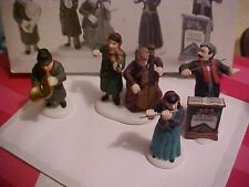 Department 56 Heritage Village Collection Chamber Orchestra Figurine Set
