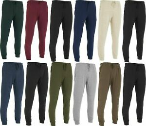 Men's Casual 100% Cotton Soft Knit Pajama Bottom Loungewear Pants With Pockets
