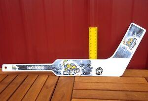 TOLEDO WALLEYE mini hockey stick ECHL collectible Spike mascot OHIO toy