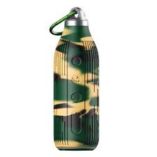 Enceinte Sport antichoc bluetooth et NFC forme bouteille coloris camouflage