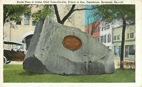 Postcard Burial Place Of Chief Tomo-Chi-Chi, Savannah, GA