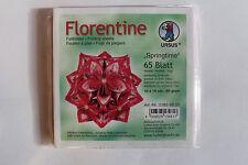 Faltblätter Florentine Springtime 01; 65 Blatt 10 * 10  cm 80 g/qm
