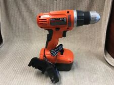 BLACK & DECKER 18V CORDLESS DRILL/DRIVER GC01800 W' CHARGER Ships Free!!