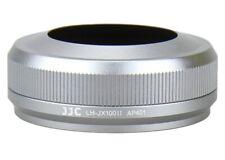 JJC Premium Silver Lens Hood LH-JX100II Replacement for Fuji FinePix X100, X100S