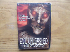 Evil Unleashed: The Mummy 2D & 3D (DVD, 2004) New