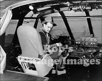 Spruce Goose Cockpit Photo of Howard Hughes Spectacular Flying Boat Airplane