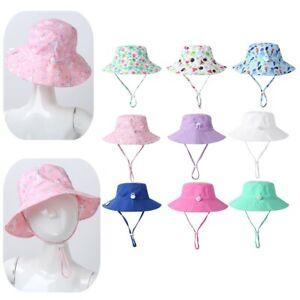 Baby Boy Girl Bucket Sun Hat Summer Beach Toddlers Swimming Beach Cap Costumes