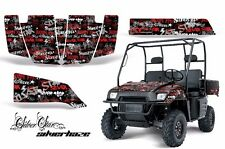 AMR Racing Polaris Ranger 500/700 UTV Graphic Kit Wrap Decal Part 04-08 SLVRHZ R
