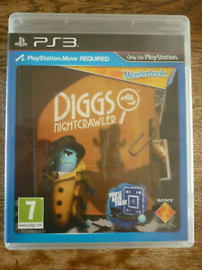 Wonderbook: Diggs Nightcrawler PS3 Playstation 3 Complete with Manual