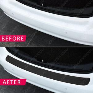 Sticker Rear Bumper Guard Sill Plate Trunk Protector Trim Cover Accessories
