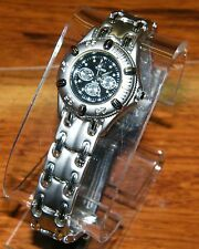 Terner Bijoux (DA0671L) Silver Stainless Steel Glow in the Dark Lady Wrist Watch