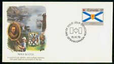 MayfairStamps Canada Fdc 1979 Nova Scotia Fleetwood First Day Cover Wwf96859
