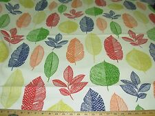 """~BTY~RICHLOOM~""""MODERN LEAVES""""~COTTON DUCK UPHOLSTERY FABRIC FOR LESS~"""