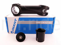 "GIANT Contact OD2 Stem 110mm +/- 8 degree Black 1-1/4"" and 1-1/8"" spacer"