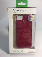 New Versio Merge Pink Glitter Case for Apple iPhone 5s/5 (Retail Packa