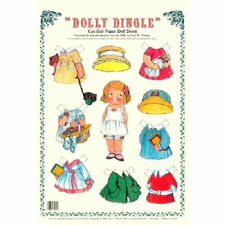 Shackman Dolly Dingle Paper Doll And Clothes 1920'S Beloved Character #Shk-24