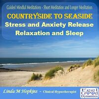 Guided Mindful Meditations CD Countryside To Seaside Short and Long Meditation