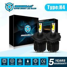 H4 LED Headlight Conversion Kit Bulbs 2200W 3300000LM 6000K High/Low Beam Lights