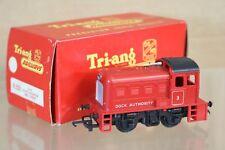 Tri-Ang R253 Br Rojo 0 4 0 Embarcadero Autoridad Diesel Shunter Locomotoras 3 en