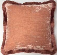 Kissen Anke Drechsel Designer PLAIN Fringe Old Rose Pillow Almohada Cushion