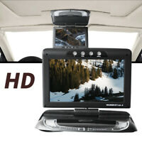 "9"" HD 1080P Overhead Car Truck LCD Player LED Radio Display USB SD Game Monitor"