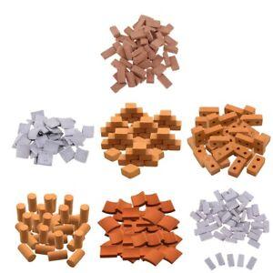 1:8 Mini Wall Bricks Model Sand Table Diorama Scene   Model Ornaments