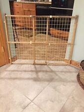 Adjustable Indoor Wooden Gate