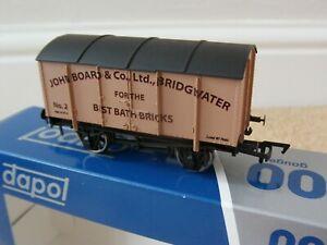 NEW DAPOL LIMITED EDITION WAGON JOHN BOARD BATH BRICKS BRIDGWATER SOMERSET OO