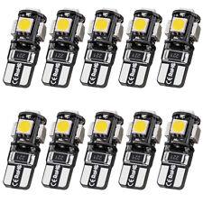 10X T10 Super White Led Canbus Error Free 5SMD Car Wedge light Bulb 168 194 W5W