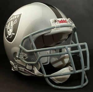 WARREN SAPP Edition OAKLAND RAIDERS Riddell AUTHENTIC Football Helmet