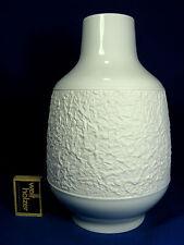 RARE 70´s Hutschenreuther Hans anni ottanta design in rilievo porcelain vase 5080/25
