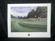 Daniel Moore 1986 PGA Champ Sudden Victory Limited Edition Golf Lithograph
