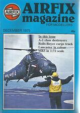AIRFIX DECEMBER 1979 A-1 CLASS DESTROYERS / ROLLS-ROYCE CARGO TRUCK / LANCASTER