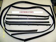 81 - 87 CHEVY GMC TRUCK WINDOW WEATHERSTRIP KIT