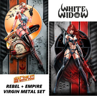 WHITE WIDOW #1 - MAY THE 4TH STAR WARS EXCLUSIVE SET - TWO VIRGIN METAL (NM)