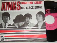 "7"" -  The Kinks Dead End Street & Big Black Smoke - Dutch 1966 # 4566"