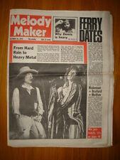 MELODY MAKER 1976 OCT 16 STONES BOB DYLAN BRYAN FERRY