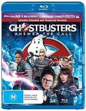 Ghostbusters 3D Blu-ray ONLY NO 2D Or UV ( 2016) Needs 3D TV & Bluray Player