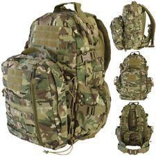 ARMY 60 LITRE DEFENDER PATROL PACK MOLLE RUCKSACK ASSAULT BAG MTP BTP CAMOUFLAGE