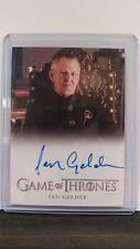 Game of Thrones Inflexions Ian Gelder (Kevan Lannister) Full Bleed Auto Card