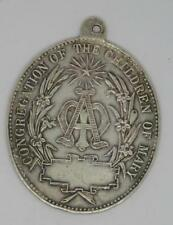 Vintage Sterling Silver Congregation of the Children of Mary Pendant