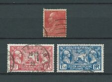 FRANCE - 1927 YT 243 à 245 - TIMBRES OBL. / USED